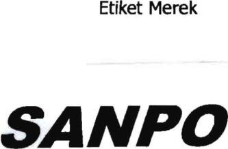 Indonesia Trademark SANPO in class 11